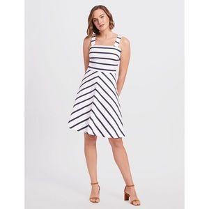 Draper James Stripe A-Line Dress